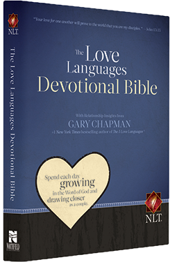 The Love Languages Devotional Bible, Hardcover Edition (NLT)