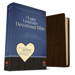 The Love Languages Devotional Bible, SoftTouch Edition (NLT)