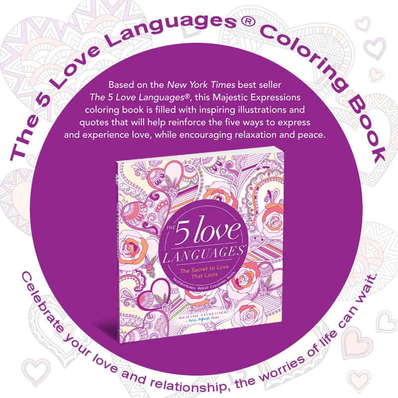 Inspirational Adult Coloring Book The 5 Love Languages 174