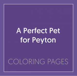 Book Cover: A Perfect Pet for Peyton
