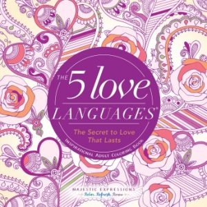 Book Cover: The 5 Love Languages - Inspirational Adult Coloring Book
