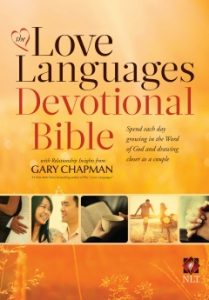 Book Cover: The Love Languages Devotional Bible (NLT)