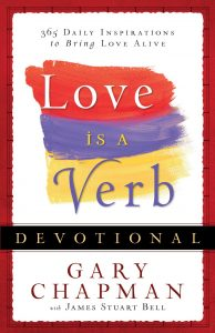 Book Cover: Love is a Verb Devotional