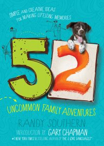 Book Cover: 52 Uncommon Family Adventures